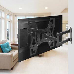 TV Bracket Wall Mount 32 40 42 46 50 52 60 62 65 inch Full Motion Swivel LCD LED