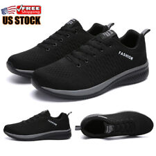Men's Sneakers Casual Athletic Non-slip Walking Sports Tennis Running Gym Shoes