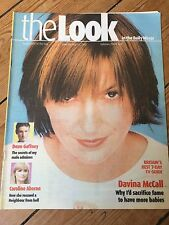 DAVINA McCALL Dean Gaffney Caroline Aherne Anne Charleston The Bill UK magazine