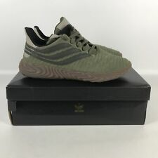 Adidas Originals Sobakov Night  Running Shoes Men's Size 10 Green D98153