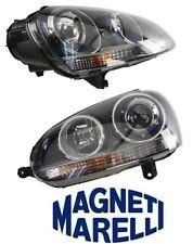 NEW VW Jetta R32 Set Of Right & Left Headlights Assembly OEM Magneti Marelli