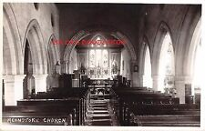 Hampshire, MEONSTOKE St. Andrew's Church  - Real Photo postcard.