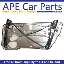 SEAT IBIZA 02-10 FRONT LEFT WINDOW REGULATOR WITH PANEL 2-DOOR MODELS 6L3837461