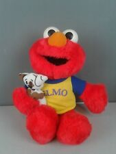 Sesame Street My Elmo and dog talking plush with batteries works