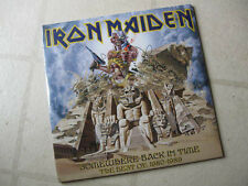 """IRON MAIDEN 2008 """"Somehwere Back In Time '80-89"""" NEW/SEALED 2PICTURE DISC LP SET"""