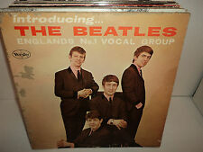 BEATLES INTRODUCING THE BEATLES England's No 1 Vocal Group VEE-JAY LP 1062 MONO