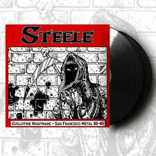 STEELE - Guillotine Nightmare - SF 83-85 (LIM.150 BLACK DLP*US METAL*ROTTWEILER)