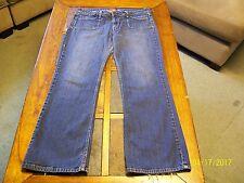 LEVIS 545 Womens Stretch LOW RISE BOOT CUT Denim Jeans 14 L/Large