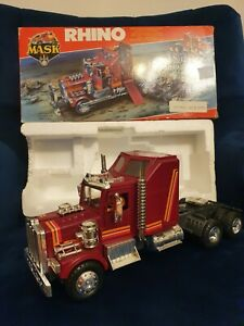 M. A. S. K. Kenner Rhino Action Toy