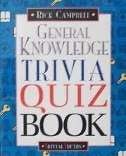 General knowledge trivia quiz book  Trivial truths