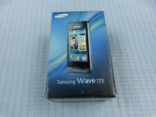 Samsung Wave 723 GT-S7230E Schwarz! Neu & OVP! Ohne Simlock! Unbenutzt!