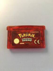 Pokemon Rubino solo cartuccia