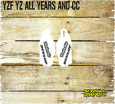 YAMAHA YZ YZF MOTOCROSS LOWERFORK GRAPHICS-STICKER KIT-DECALS-MONSTER