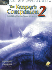 CALL OF CTHULHU - The Keeper's Companion 2 NEW Chaosium *RPG*