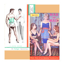 Exotique TRANSVESTITE forced femininity Man to Maid Selbee Leather ebook CD Eneg