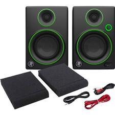 Mackie CR4 (Coppia) Monitor da Studio Attive DJ 50W Casse Acustiche Amplificate