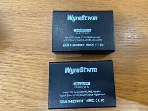 WyreStorm HDMI Transmitter & Receiver Pair EX-1UTP-IR-40