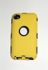 eForCity Hybrid Case for iPod touch 4G, YELLOW