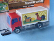 Matchbox Delivery Farm Truck Red and White Body Farming Toy Model 75mm in BP