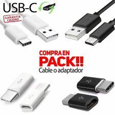 CABLES Y ADAPTADORES USB TIPO-C A MICRO USB-C 3.1 tipo C Macho USB 2.0 Type C