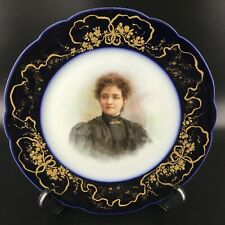 Assiette raffinée signée Jean Pouyat - Limoges