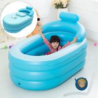 Portable Adult Child Bath Tub PVC Portable Spa Warm Bathtub Inflatable Air