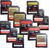 SANDISK 16G 32GB SD HC EXTREME CLASS10 SD MEMORY CARD 45 80 95MB/S U1 U3 R