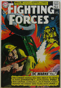 Our Fighting Forces #94 (Aug 1965, DC), VFN condition