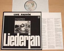 LIEDERJAN - Deutsche Volkslieder aus 5 Jahrhunderten  (1976 + OIS / LP m-)