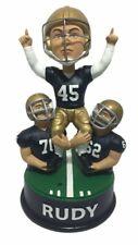 Rudy Ruettiger Notre Dame Fighting Irish Talking Celebration Bobblehead NCAA