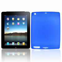 Royal Blue Silicone Sleeve Shield Cover for Apple iPad 2G