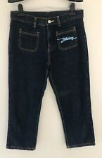 Billabong Women's Denim Jeans Size 10 Dark Blue