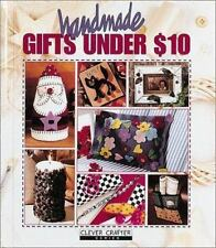 Handmade Gifts Under $10, Clever Crafter Series, hardback, free shipping