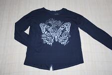 Pepe Jeans Mädchen Shirt Pullover Oberteil  Sweat blau Motiv 164 °BT13