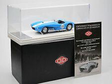 DIP Models 111211 - ZIL-112S Rennwagen Chassis Nr.1 - 1962 - #46 blau/weiß 1/43