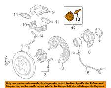 GM OEM Brake-Rear Suspension-Vibration Damper 13343688