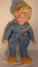 Mrs Beasley Reproduction Talking Doll In Very Good Condition Works Fine 20 Inch