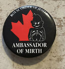 Button Used ~ Royal Order Of Jesters Ambassador Of Mirth