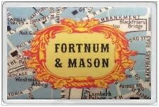 FORTNUM MASON - JUMBO FRIDGE MAGNET - RETRO STYLE LONDON MAP