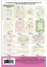 Anita Goodesign Embroidery Machine Design CD ALL OCCASION CARDS