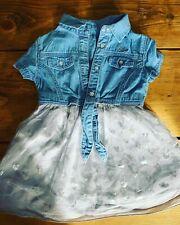 GUESS blue girls dress 18 months BNWT