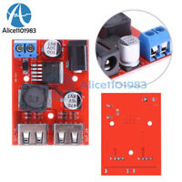 1/2/5PCS DC 6V-40V to 5V 3A Dual USB Charger Step Down Buck Power Supply Module