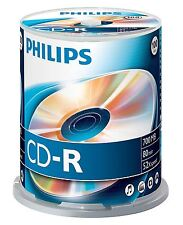PHILIPS CD-R 80 MINUTE 700MB 52X GESCHWINDIGKEIT ROHLINGE CD DISCS