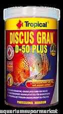 TROPICAL DISCUS GRAN D-50 PLUS 440g - Aussie Seller