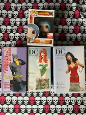 Dc Statues Harley Quinn / Poison Ivy / Catwoman Lot