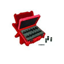 1/4 in. Drive Metric Deep Well Socket Set 12-Piece SHOCKWAVE IMPACT DUTY Tools