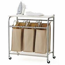 neatfreak U5479-EFST Triple Sorter with Ironing Board and Everfresh , NEW