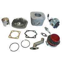 47mm Cylinder & Cylinder Head Set For 80cc 2-Stroke Engine Motorized Bicycle