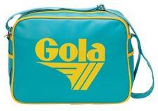 GOLA Classic Messenger Redford Bag RARE COLOR Aqua Yellow Retro Sporty Travel