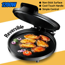 1200W Automatic Electric Pancake Crepe Pizza Maker NON-STICK PLATE Griddle